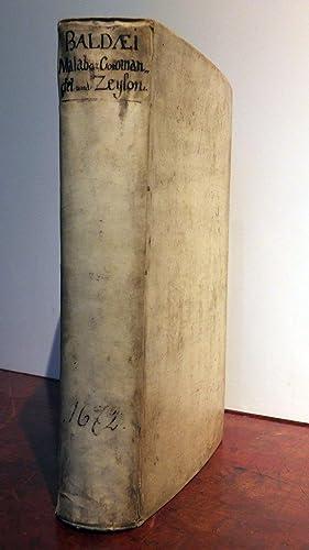Wahrhaftige ausfurliche Beschreibung der beruhmten Ost-Indischen Kusten: BALDAEUS, Philippus (1632-1672).