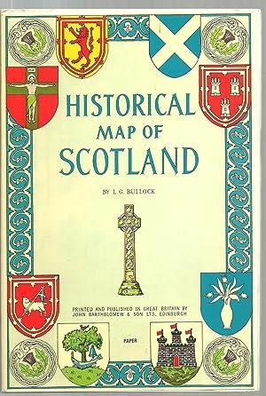 Historical Map of Scotland: L. G. Bullock