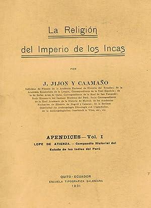 La Religión del Imperio de los Incas.: Jijón y Caamaño