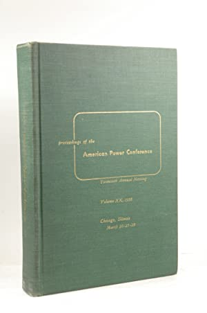Proceedings of the American Power Conference March: Various; Illinois Institute
