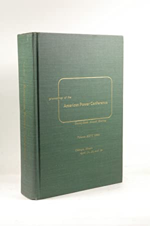 Proceedings of the American Power Conference April: Illinois Institute of