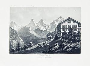 Souvenir de la Suisse. Oberland Bernois. (=: Anonyme. -