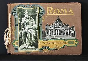 Ricordo di Roma, Centoventi Tavole; Vedute-Pittura-Scultura