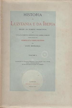 Historia da Luzitania e da Iberia desde: BONANÇA, João, 1836-1924