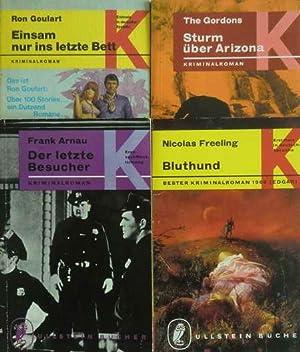 4 Krimis: Bluthund / Sturm über Arizona: Freeling, Nicolas /