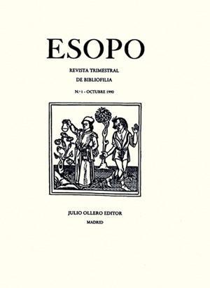 ESOPO. REVISTA DE BIBLIOFILIA NÚMEROS I-V (todo