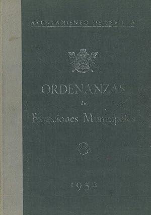 ORDENANZAS DE EXACCIONES MUNICIPALES.: AYUNTAMIENTO DE SEVILLA.