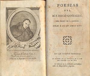POESÍAS.: GONZÁLEZ, M. F. Diego. (del Orden de San Agustín).