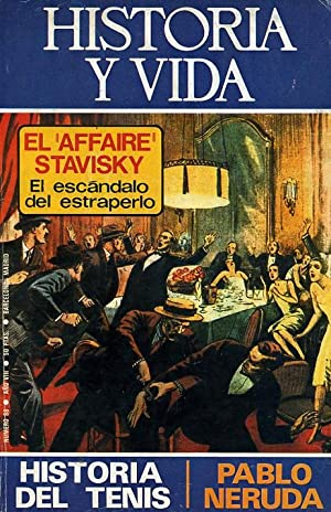 Imagen del vendedor de HISTORIA Y VIDA. nº 88. EL 'AFFAIRE' STAVISKY: El escándalo del estraperlo. (En el mismo número: HISTORIA DEL TENIS - PABLO NERUDA). a la venta por Librería Anticuaria Galgo