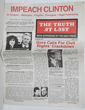 The Truth at Last, issue 403 News: Fields, E. R.,