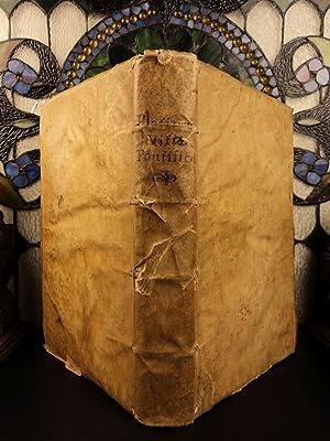 1573 1st ed Lives of the POPES: Bartolomeo Platina; Onofrio