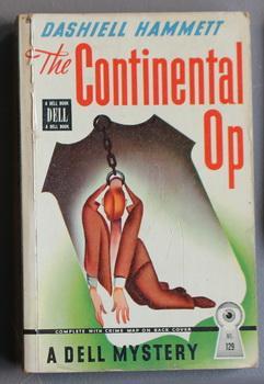 THE CONTINENTAL OP. ( DELL Mapback Map: Hammett, Dashiell. (intro