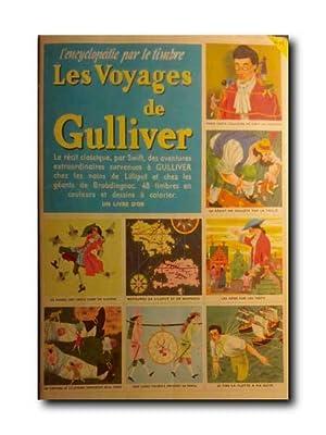 LES VOYAGES DE GULLIVER. L'encyclopedie Par Le: Album De Cromos