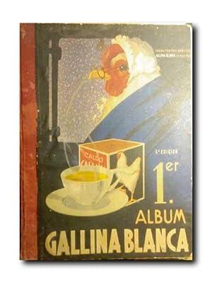 PRIMER ALBUM GALLINA BLANCA.: Album De Cromos