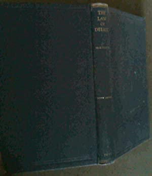 The Law of Delict : A treatise: McKerron, R G