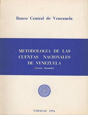 Metodologia de las cuentas nacionales de Venezuela: Banco Central de