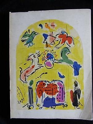 Vitraux pour Jerusalem. Musée des Arts Décoratifs.: Chagall, Marc.