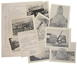 Set No. 5 - Convoy and Japanese Pictures: 53 Photographic Reproductions from WWII