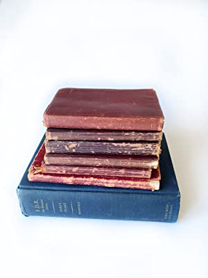 Sensational 1895-1903 Original Handwritten Diary Collection Rich: James Lippincott Goodwin
