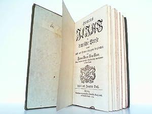 Homers Ilias. Erstes und zweytes Buch. In deutsche Verse übersetzt und mit Anmerkungen begleitet ...