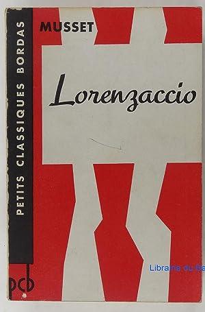 Image du vendeur pour Lorenzaccio mis en vente par Librairie du Bassin