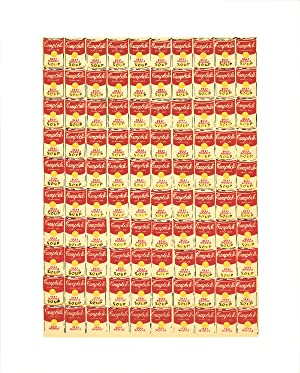"""ANDY WARHOL 100 Cans 20"""" x 16"""": Warhol, Andy"""