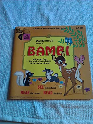 Walt Disney's Story of Bambi [Kit][Record and: Chambers, Whittaker