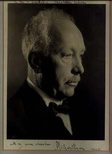 Strauss Photograph Inscribed and Signed