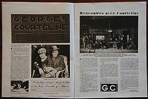 BRAVO, mensuel n° de juillet 1930 consacré à Georges COURTELINE: Collectif