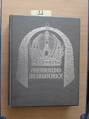 Unter dem allerhöchsten Protektorate seiner kaiserlichen und königlich apostolischen Majestät Franz...