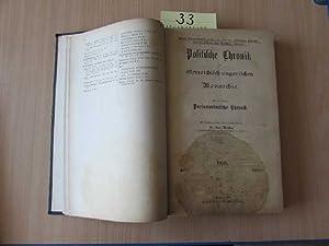 Politische Chronik der österreichisch-ungarischen Monarchie - Jahrgang 1918, Heft I bis XII (ohne ...
