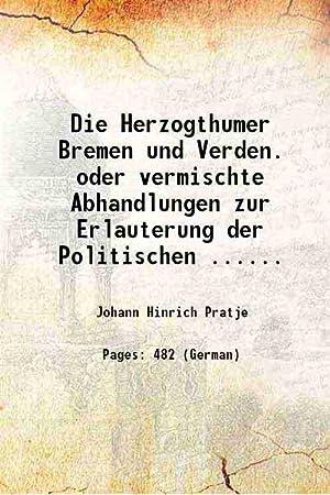 Die Herzogthumer Bremen und Verden. oder vermischte: Johann Hinrich Pratje