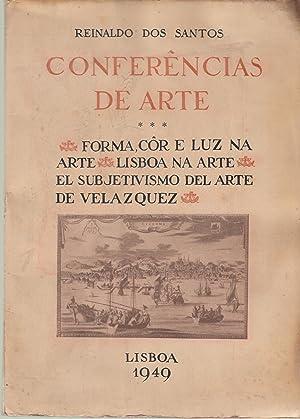 CONFERÊNCIAS DE ARTE: DOS SANTOS, Reinaldo