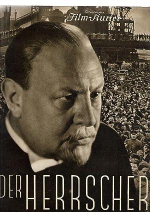 Der Herrscher. Illustrierter Film-Kurier Nummer 2515