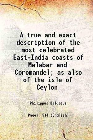 A true and exact description of the: Baldaeus, Philippus, -,Churchill,