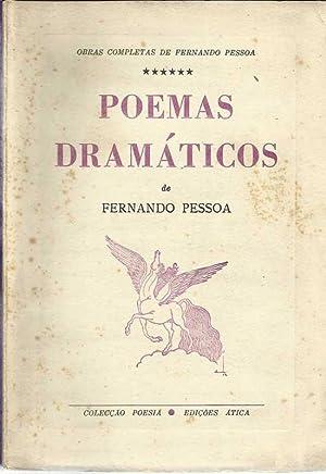 Poemas Dramáticos I Volume: Pessoa, Fernando