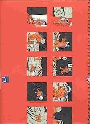 Calendar Tintin 2000 (Theme of Tintin's Moon: Herge/Tintin related