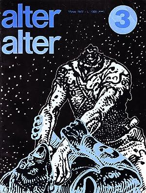 Alter Alter. Marzo, 1977, N. 3, Anno: ALTER ALTER Fantascienza