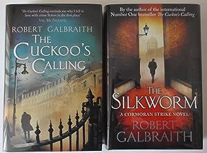 THE CUCKOO'S CALLING/ THE SILKWORM: ROBERT GALBRAITH.( J.K.ROWLING)