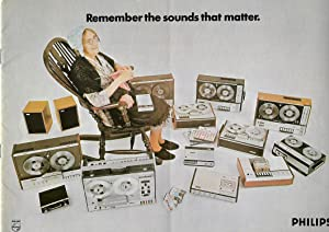 Philips Electrical Ltd Brochure 1971. Remember the Sounds That Matter
