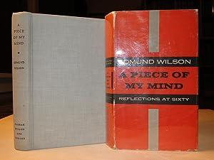 A PIECE OF MY MIND: Wilson, Edmund