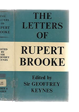 Seller image for The Letters of Rupert Brooke --- EX- LIBRARY for sale by SAVERY BOOKS