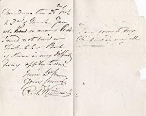 AUTOGRAPH LETTER SIGNED BY BRITISH SCULPTOR SIR RICHARD WESTMACOTT ABOUT ADMISSION TO HIS ROYAL ...