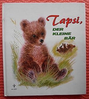 Tapsi, der kleine Bär, Bilder von Romain: Marcelle Vérité
