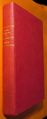 Revue Française de Psychanalyse tome XVII (1953): M. BENASSY -