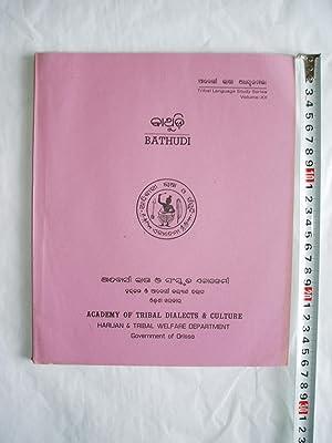 Bathudi [Texts, Grammar, Dictionary]: Sathapathy, Rabindra Kumar