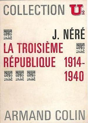La troisième république 1914-1940: Néré Jacques (1917-2000)