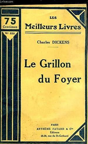 LE GRILLON DU FOYER: CHARLES DICKENS