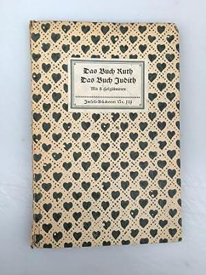 Das Buch Ruth - Das Buch Judith,: Ruth - Judith,