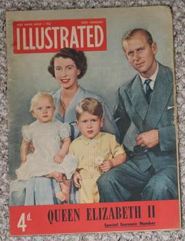 "Illustrated March 1, 1952 -""Queen Elizabeth II Special Souvenir Number"". - British Edition;"